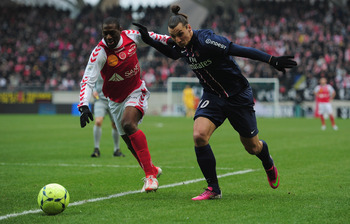 Reims caused a shock by beating PSG to climb out of the relegation zone