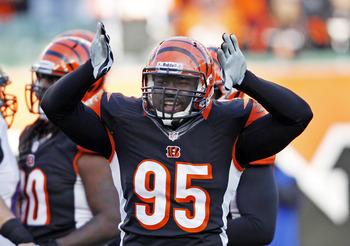 Defensive end Wallace Gilberry received a three-year deal over the weekend.
