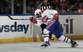 P.K. Subban of the Montreal Canadiens.