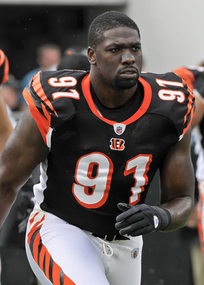 Veteran Robert Geathers may have played his last game in Cincinnati.
