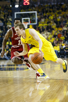 Spike Albrecht played excellently in relief of Trey Burke this season.