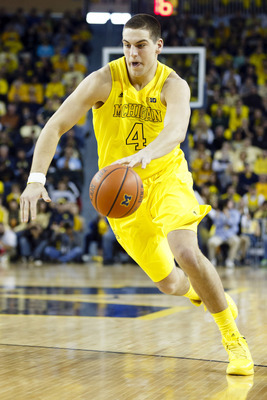 Mitch McGary has the highest upside of anyone on Michigan's roster right now.