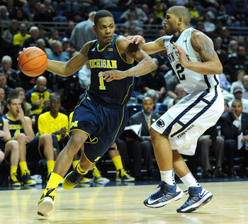 Glenn Robinson III is the most explosive athlete the Wolverines have.
