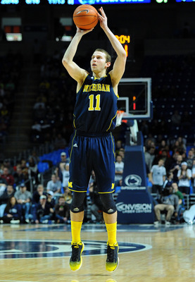 Nik Stauskas proved to be much more than a three-point shooter this season.
