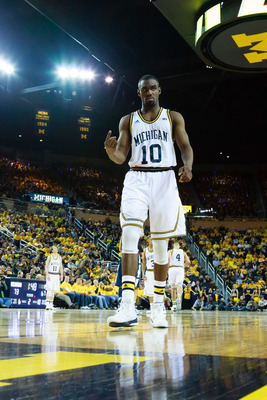 Tim Hardaway Jr. earned first team All-Big Ten honors this season.