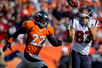 There is no chance Tracy Porter returns to the Broncos in 2013.