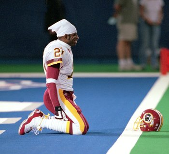 Deion Sanders saw his career fizzle after receiving boatloads of cash from Washington.