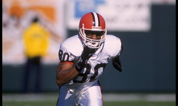 The Browns were gullible enough to pay Andre Rison what he wanted.