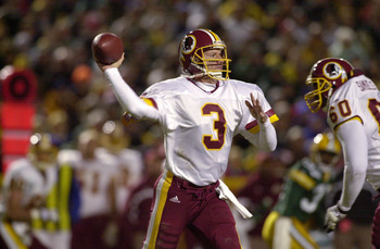 Jeff George wasted the Redskins' time like he wasted away his immense talent.