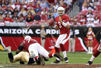 Derek Anderson failed to keep his starting job for more than four games in Arizona.