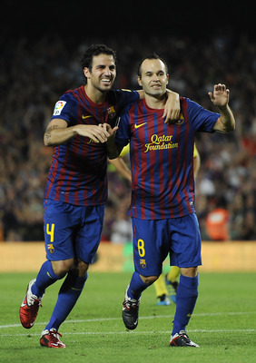 Fabregas and Iniesta too often drift into the same positions.