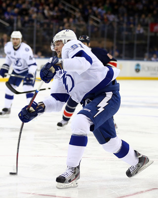 The league's top scorer, Steven Stamkos headlines one of the league's best offenses.