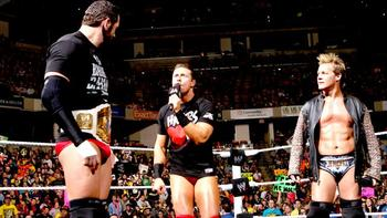 Who will challenge Barrett at WrestleMania? (photo credit: Wwe.com)
