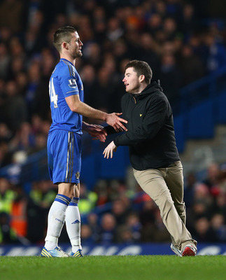 Chelsea's Gary Cahill has even proven to be a pretty decent usher for the Blues this season.