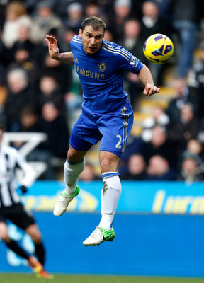 Branislav Ivanovic has proven to be a dangerous option for Chelsea on balls in the air over the years.