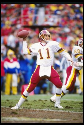 Former Redskins quarterback Mark Rypien.