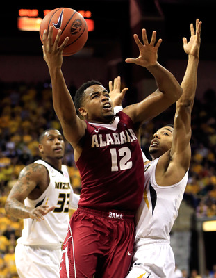Crimson Tide junior guard Trevor Releford.