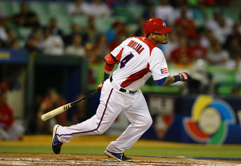 Yadier Molina is a big reason Puerto Rico was able to escape Pool C.