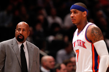 Woodson's leadership has done wonders for Anthony and the Knicks.