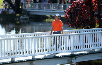 The walk at the top of the golf world has been lonely and a bit tough for Rory McIlroy.