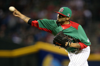 Sergio Romo threw 26 pitches in Mexico's first WBC game.