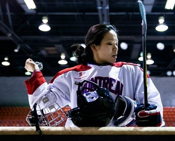 Image by Jess Desjardins, Obtained from Montreal CWHL facebook page