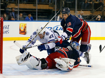 The Leafs may be on a collision course with Lundqvist and the Rangers.