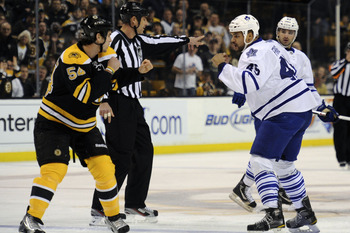The road to the Stanley Cup goes directly through Boston and they are the only conference foe the Leafs have not beaten yet this season.