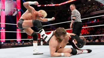 Could this be the beginning of a rivalry for Daniel Bryan and Dolph Ziggler? Courtesy of WWE.com