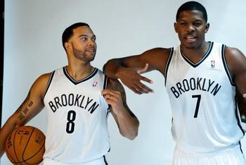 How do Deron Williams and Joe Johnson compare to Jason Kidd and Vince Carter? ANDREW THEODORAKIS/NEW YORK DAILY NEWS