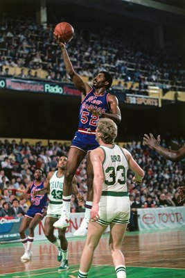 Power forward Buck Williams averaged a double-double for the 1983-84 Nets. Image from NetsMediaGuide.com.