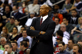 Coach Byron Scott led the Nets to back-to-back NBA Finals appearances in 2001-02 and 2002-03.