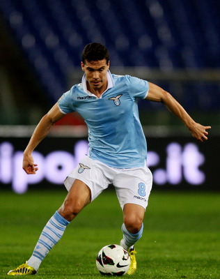 Hernanes and Lazio were extremely strong in the first leg.