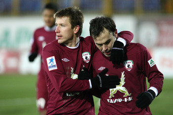 Rubin Kazan host Levante in a wide-open Europa League clash.
