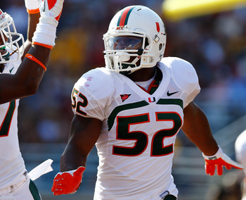 Denzel Perryman was hampered by injuries in 2012.