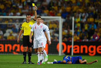 Viktor Kassai also refereed the England vs. Ukraine game at Euro 2012.