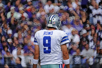 Dallas Cowboys QB Tony Romo.