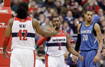 With Nené making starts at the forward position, Emeka Okafor has been starting at center, producing at a solid level for the Wizards.