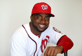 Denard Span brings speed to the Nationals.