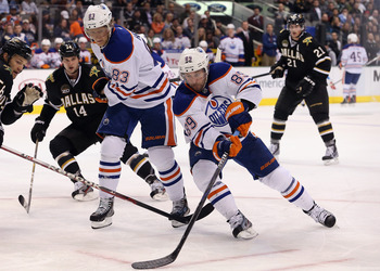 Sam Gagner has been the best Oiler so far in 2013, sparking the debate as to whether the team should extend his contract or not.