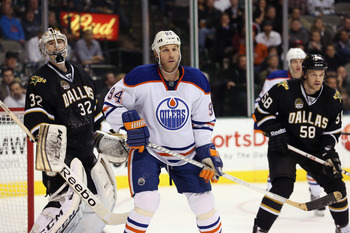 The Oilers need more players with toughness like Ryan Smyth.
