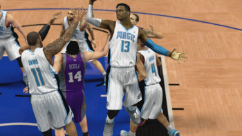 Nerlens Noel created on NBA 2K13