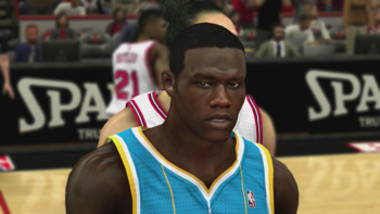 Gorgui Dieng created in NBA 2K13
