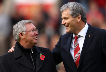 Sir Alex and David Gill