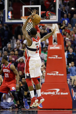 John Wall is the most recognizable player right now on the Wizards and could be the face of the team in the coming years.