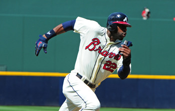 Jason Heyward joined the 20-20 club last season.