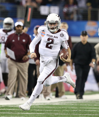 Heisman Trophy winner Johnny Manziel would like to add a BCS Championship to his resume.