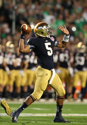 Everett Golson has tasted the championship game and now he'd like to see what's it feels like to celebrate afterward.