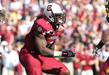 Jadeveon Clowney is one of the fiercest defensive players in the college game and it would be fun to see him play in the biggest game.
