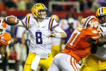 Zach Mettenberger threw for more than 2,600 yards in his first season as the starter at LSU.